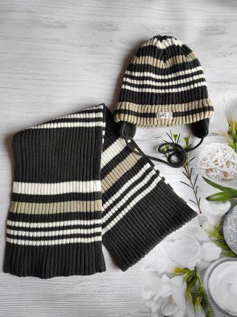 Комплект, набор шапка шарф wojcik