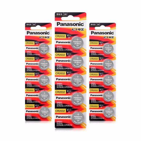Батарейки Panasonic и Sony. CR2032, CR2025, CR2016