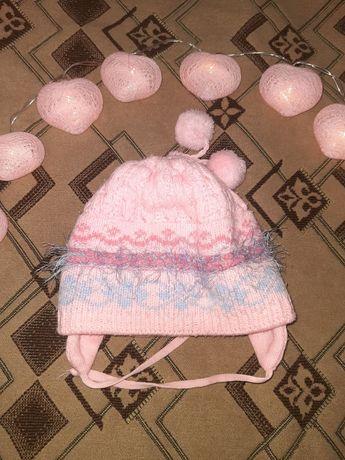 Очаровательная детская шапочка