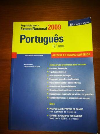 Livro de Preparação para o Exame Nacional 2009 Português 12ºano
