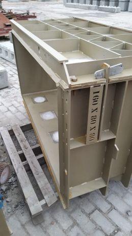 Forma do bloków betonowych 160/80/80 , mury, wynajem, zamiana