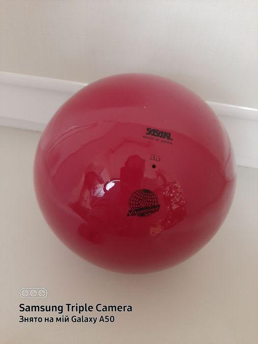 Продам м'яч для художньої  гімнастики SASAKI розмір 18,5 Одесса - изображение 1