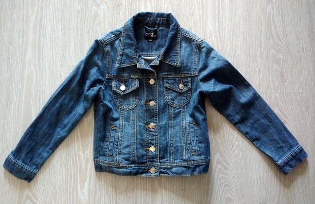 Детская джинсовая куртка ветровка.