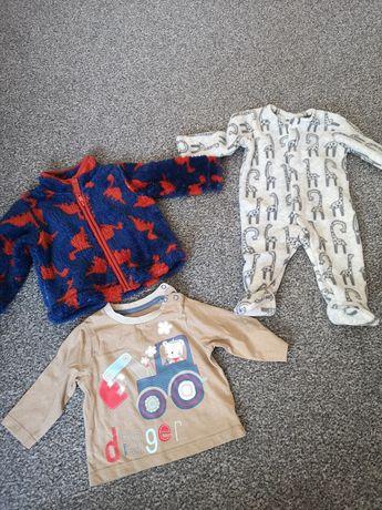 Ubranka dla chłopca 0-3