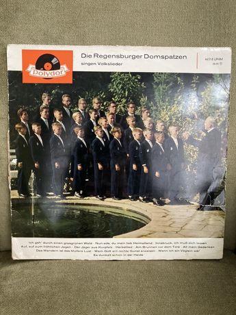 Płyta winylowa - muzyka chóralna