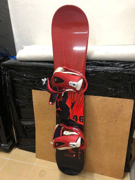 Deska Snowboardowa Nidecker 142cm + wiązania Nidecker + buty