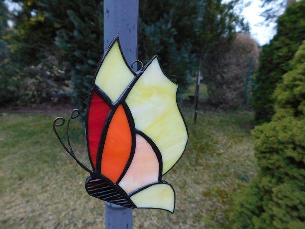 Zawieszka na okno motyl motylek