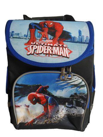 Рюкзак школьный Человек паук каркасный ортопедический, ранец школьный