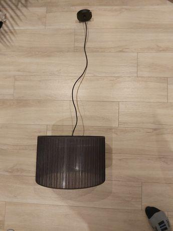 Lampa wisząca, czarna, glamour