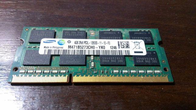 Оперативная память DDR3 4 гб (samsung 2Rx8 PC3L-12800S-11-10-F3)