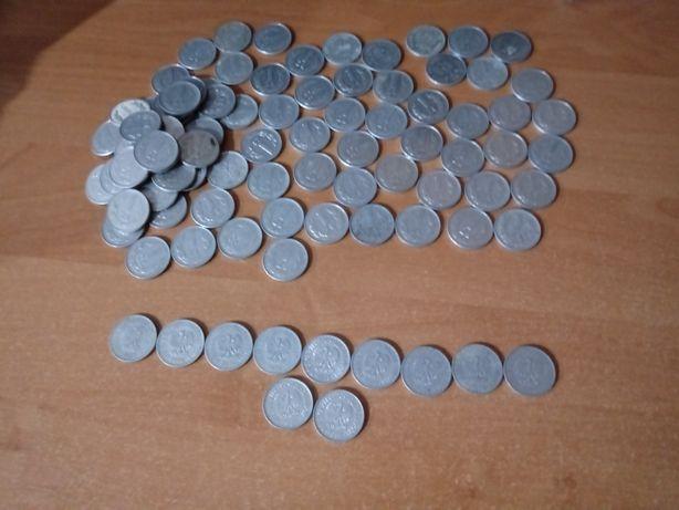 Stare pieniądze, monety 1 złoty 1973- 1988r 95 szt