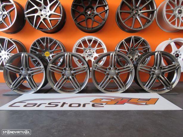 Jantes Look Audi RS6 17 x 7.5 et 35 5x112 Hyperblack