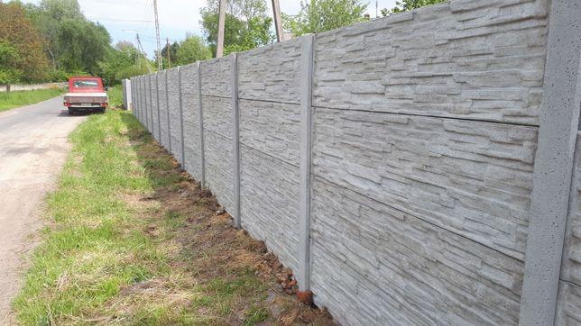 Ogrodzenia betonowe i panelowe kompleksowa usługa