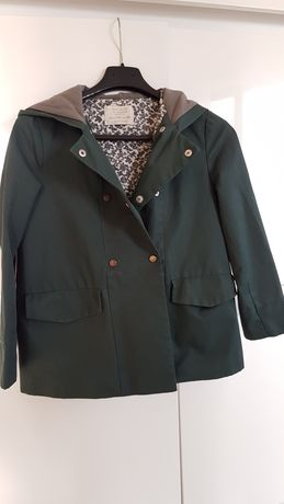 Kurtka, wiatrówka dziewczęca, płaszcz Zara r. 128
