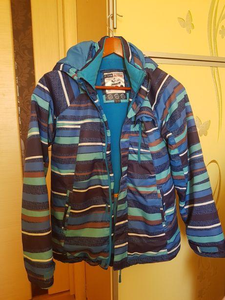 Куртка, пальто осень-зима на мальчика подростка, 152 сс