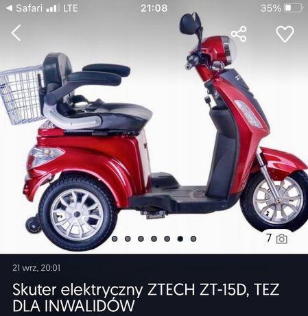 Motorower inwalidzki ZTECH