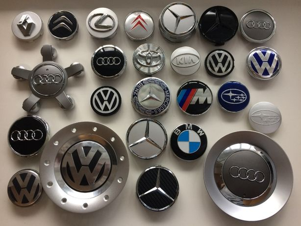 Колпачки заглушки на диски BMW VW Skoda Audi Toyota Honda Mercedes