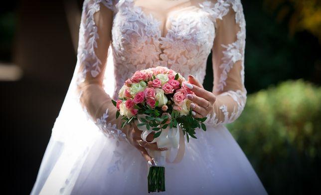 Весільне плаття , ідеальний стан сучасна модель 2020 р