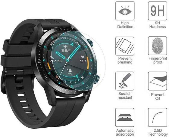 Película vidro temperado Huawei Watch GT 2 46mm