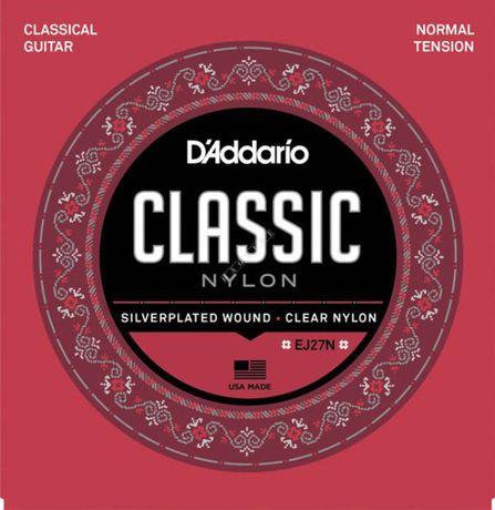 D'addario EJ27 N - struny do gitary klasycznej
