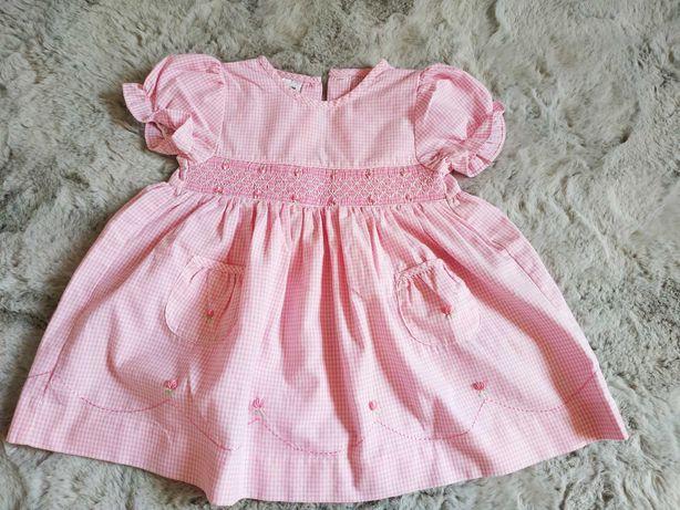 Sukienka dla dziewczynki na 3-6 msc/ 62-68 cm