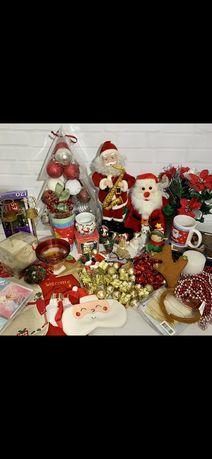 Новорічні прикраси Англія  Новогодний декор и украшения