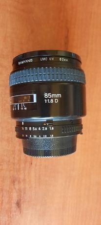 Obiektyw NIKKOR AF 85 mm 1.8 D