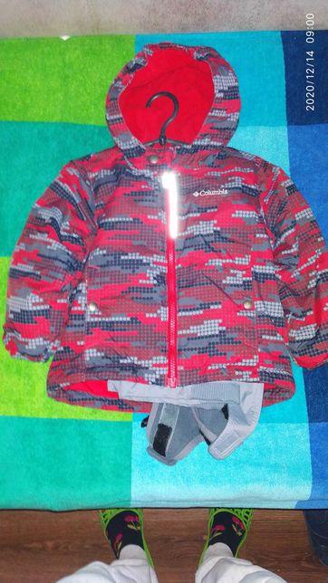 Columbia комплект (куртка + комбез) розмір 3Т