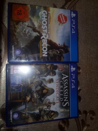 Gry ac syndicate i ghost recon na ps4