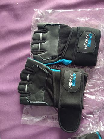 Rękawiczki sportowe bez palcòw nowe M