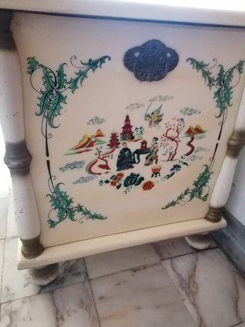 Baú arca chinesa vintage