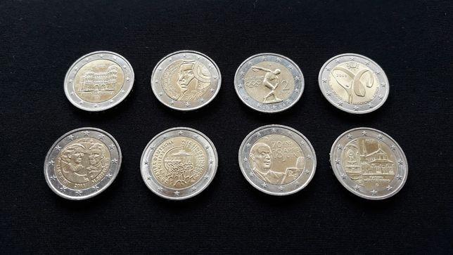 Moedas comemorativas (2 euros, €)