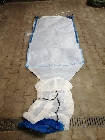 Worek o rozmiarze 90/90/200cm na mielone ccm/ wkład foliowy Big Bag
