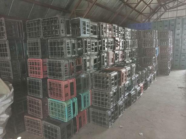Продам пластмасові ящики пивні горілчані.пластмаса.