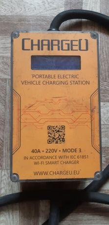 Зарядний пристрій 40A до електромобіля