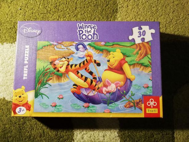 Puzzle dla dziewczynki z postaciami z bajek