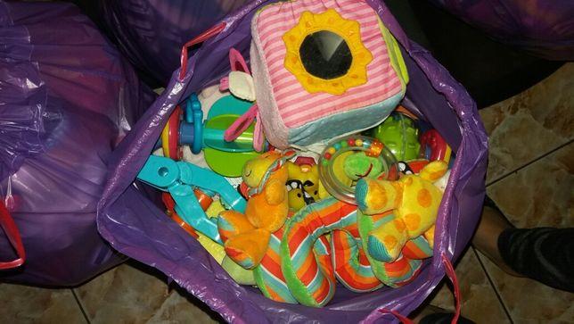 Zabawki dla niemowlaka wielka paka