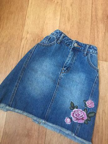Джинсовая юбка OSTIN