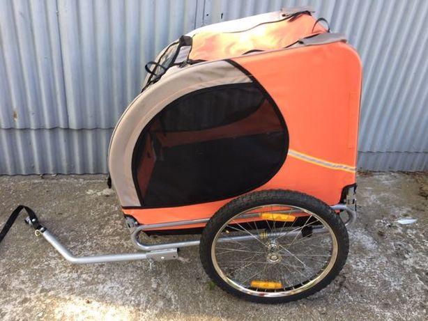 Przyczepka rowerowa dla psa vida xl 78x56x52 cm