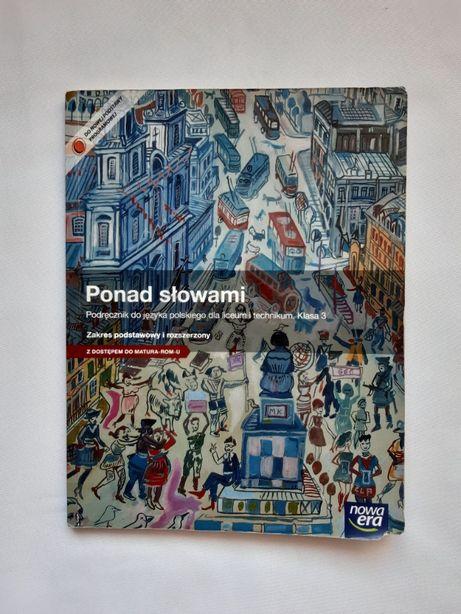 Ponad słowami- podręcznik, język polski klasa 3