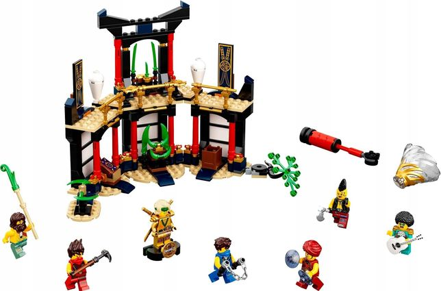 Lego Ninjago Turniej Żywiołów ZŁOTA FIGURKA KOLEKCJONERSKA nowy zestaw