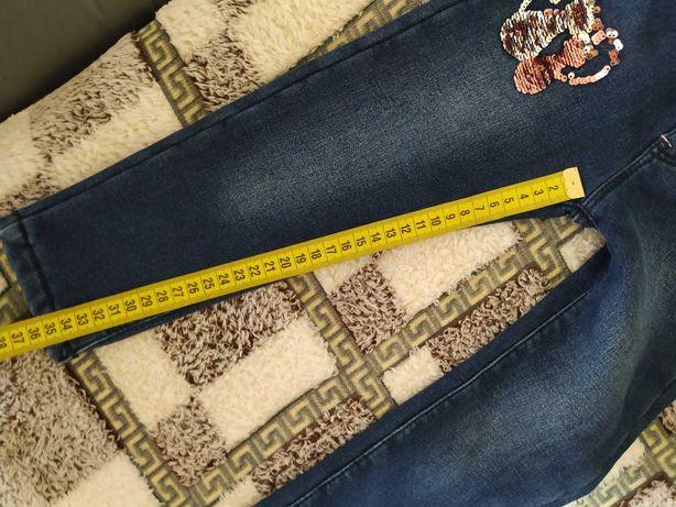 Продам теплые детские джинсы