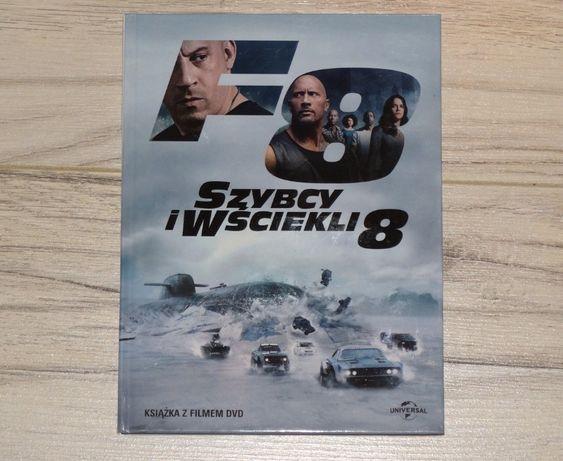 Film DVD Szybcy i wściekli 8 z książką o filmie okazja dla miłośników.