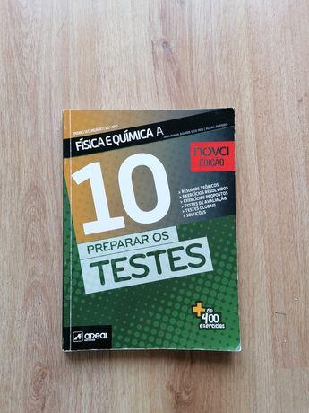 Preparar os testes 10 Física e química A (areal editores)