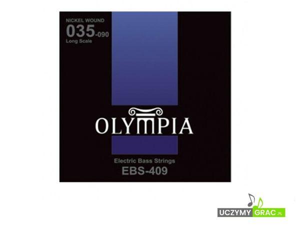 Struny do gitary basowej Olympia EBS-409 + GRATIS: 3 PIÓRKA !!!