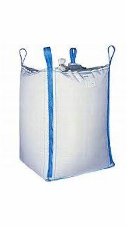 Worki BIG BAG z lejami z wkładem foliowym 96x96x115