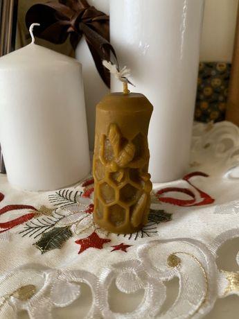 Свічка з бджолиного воску.Вироби з воску.Для декору.Бджолина продукція