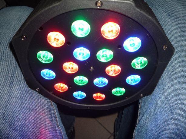Oświetlenie LED PAR LIGHT 12