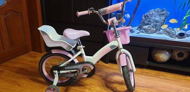 Детский двухколесный велосипед для девочки 14 дюймов Kids Bike Crosser