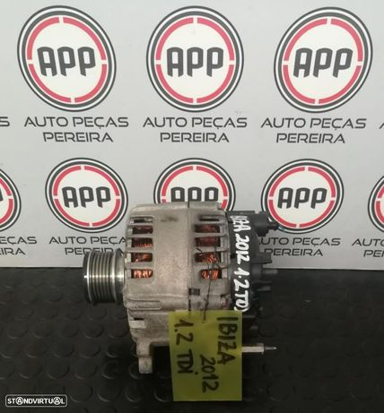 Alternador Ibiza 6J 1.2 TDI referência 03P 903 023 D
